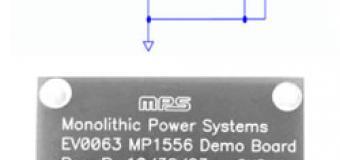 MP1556 - новый понижающий преобразователь от MPS