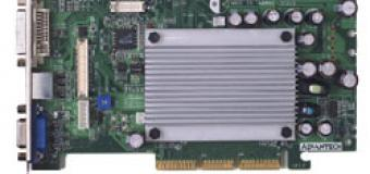 Видеокарта PCA-5640 для промышленных ПК