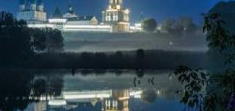 Архитектурно-художественное освещение стен и колокольни Высоцкого мужского монастыря