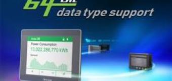 HMI Weintek серии cMT поддерживает 64-битный тип данных