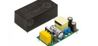 VCE – семейство экономичных источников питания AC/DC с широким диапазоном входного напряжения на 20 Вт и 40 Вт для установки на печатную плату