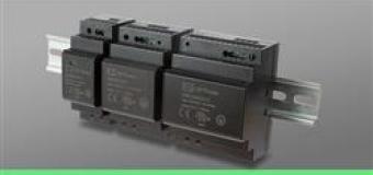 Компактные низкопрофильные источники питания AC/DC для монтажа на DIN-рейку от XP Power