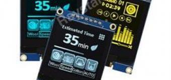 1,5-дюймовый графический OLED-дисплейный модуль на монтажной печатной плате
